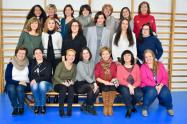 antiguas alumnas en SEK-Santa Isabel